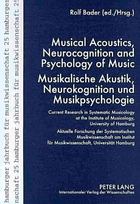 Musical Acoustics  Neurocognition and Psychology of Music PDF