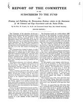 Report of the Committee to the Subscribers to the Fund for Printing and Publishing the Documentary Evidence Relative to the Intercourse of the Colonists and Cape Government with the Native Tribes