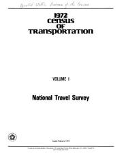 1972 Census of Transportation PDF