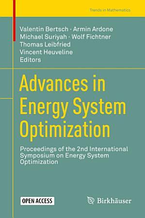 Advances in Energy System Optimization PDF