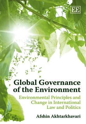 Global Governance of the Environment PDF