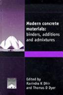 Modern Concrete Materials