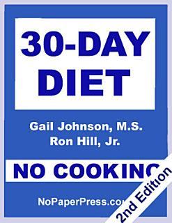 30 Day No Cooking Diet Book
