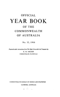 Official Year Book of the Commonwealth of Australia No  52  1966 PDF