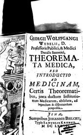 Theoremata medica