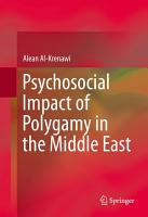 Psychosocial Impact of Polygamy in the Middle East PDF