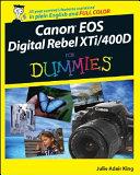Canon EOS Digital Rebel XTi   400D For Dummies PDF