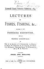 Lectures on Fishes, Fishing, &c