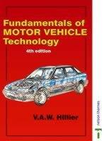Fundamentals of Motor Vehicle Technology PDF