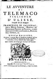 Le Le avventure di Telemaco figliuolo d'Ulisse, composte dal fu monsignor Francesco di Salignac, ... opera tradotta dal linguaggio francese nell'italiano