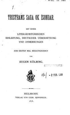 Tristrams saga ok Isondar PDF