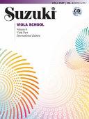 Suzuki Viola School  Vol 8 PDF