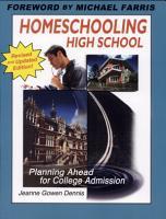 Homeschooling High School PDF