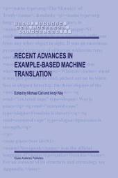 Recent Advances in Example-Based Machine Translation
