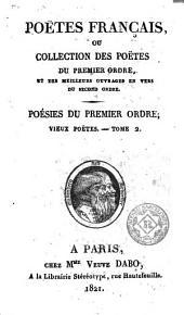 Poëtes français, ou, Collection des poëtes du premier ordre, et des meilleurs ouvrages en vers du second ordre, 2