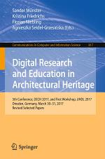 Digital Research and Education in Architectural Heritage