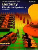 Activities Manual for Electricity Principles and Applications PDF