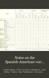 Notes on the Spanish-American War...
