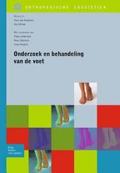 Onderzoek en behandeling van de voet