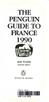 The Pengiun Guide to France 1990 PDF