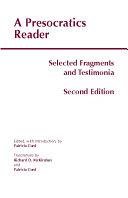 A Presocratics Reader  Second Edition  PDF