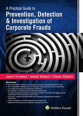 Prevention  Detection   Investigation Of Corporate Frauds