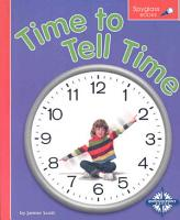 Time to Tell Time PDF