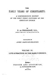 Life and practice in the early church