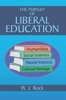 The Pursuit of Liberal Education PDF