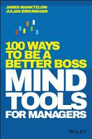 Mind Tools for Managers PDF