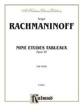 Etudes Tableaux, Op. 39: Piano Collection
