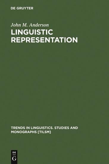 Linguistic Representation PDF