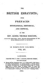 The British essayists; with prefaces by L.T. Berguer
