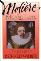 The Misanthrope and Tartuffe  by Moli  re PDF