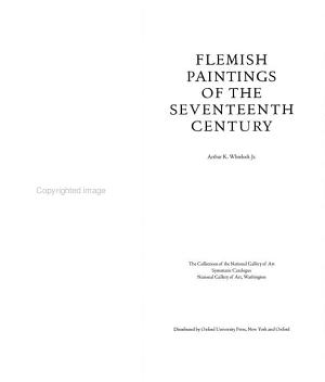 Flemish Paintings of the Seventeenth Century PDF