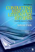Conducting Research Literature Reviews PDF