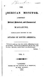 The American Monitor: Volume 1