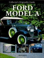 Collector s Originality Guide Ford Model A PDF