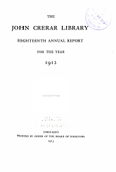 Annual Report for the Year ...: Volumes 18-24