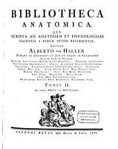 Bibliotheca anatomica: Qua scripta ad anatomen et physiologiam facientia a rerum initiis recensentur, Volume 1
