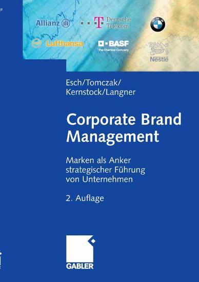 Corporate Brand Management PDF