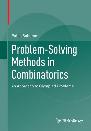 Problem Solving Methods in Combinatorics PDF