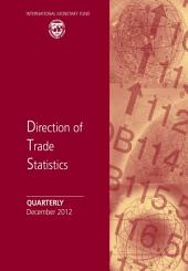 Direction of Trade Statistics Quarterly - December 2012