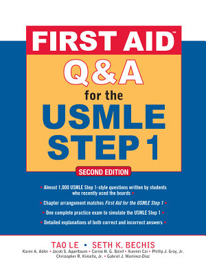 First Aid Q A for the USMLE Step 1  Second Edition