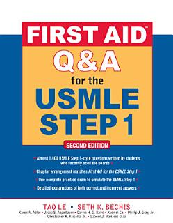 First Aid Q A for the USMLE Step 1  Second Edition Book