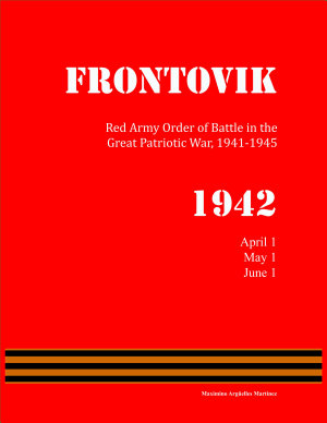Red Army Order of Battle in WWII  April to June 1942
