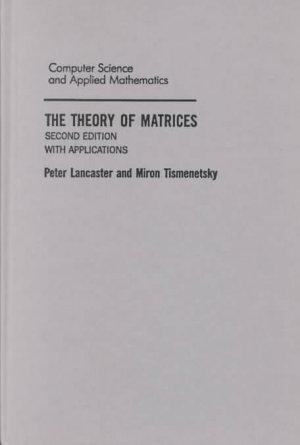 The Theory of Matrices