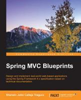 Spring MVC Blueprints PDF