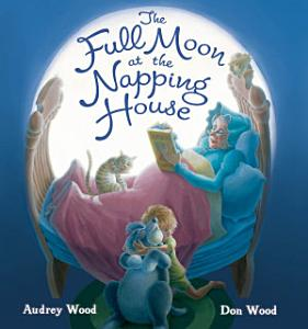 The Full Moon at the Napping House Book