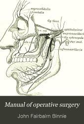 Manual of operative surgery